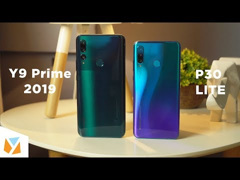 Huawei Y9 Prime 2019 vs Huawei P30 Lite Comparison Review