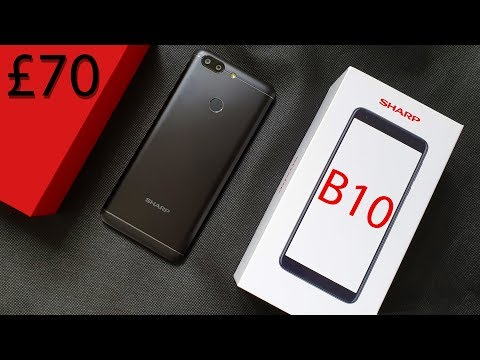 Sharp B10 Review: Just £70?