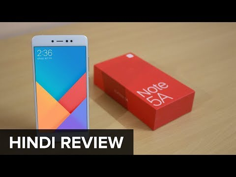 Redmi Y1 or Redmi Note 5A Hindi unboxing & review