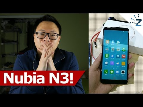 ZTE Nubia N3 Officially Launched at $283!!!