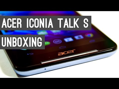 Acer Iconia Talk S Unboxing + First Impressions