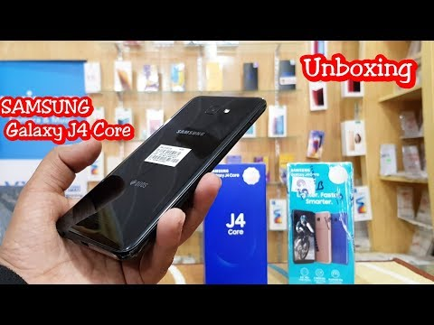 SAMSUNG GALAXY J4 CORE UNBOXING AND REVIEW