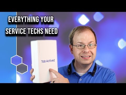 Best Tablet for Service Technicians - Samsung Tab Active 2 Review