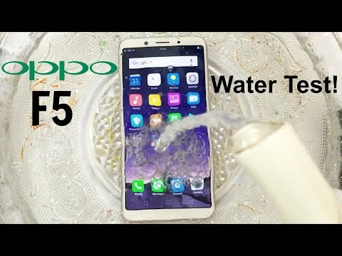 Oppo F5 Water Test! Actually Waterproof?