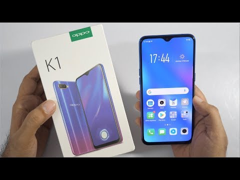 OPPO K1 Unboxing & Overview - In-display Fingerprint & 25MP Camera