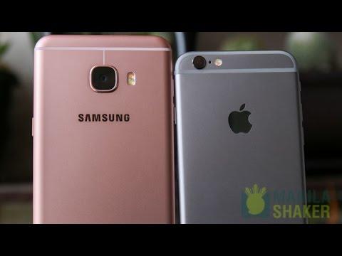Samsung Galaxy C5 vs iPhone 6s Review + Camera Comparison