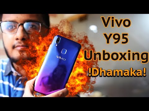 Vivo Y95 Unboxing | Nebula Purple Is 💕💕