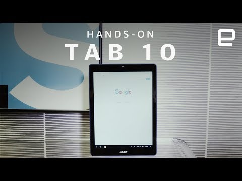Acer Chromebook Tab 10 Hands-On