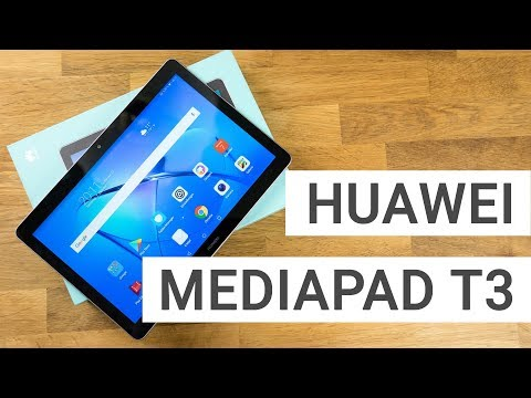 Huawei MediaPad T3 10 Unboxing & Hands On