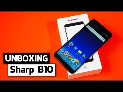 Unboxing: Sharp B10 (Deutsch) | Sharp B10 ausgepackt und erster Eindruck