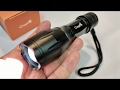 5 Mode, Zoomable, Cree XM-L T6 1000lm LE...