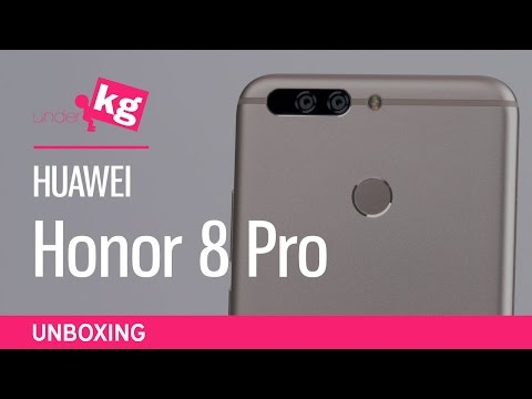 Huawei Honor 8 Pro Unboxing [4K]