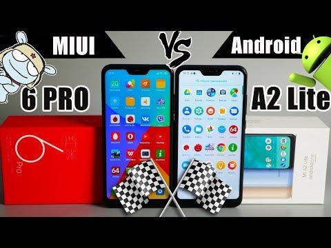 Сравнение Xiaomi Mi A2 Lite и Redmi 6 Pro: MIUI VS Android: в чём разница?