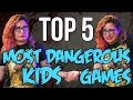 TOP 5 Dangerous Kids Games You Should NO...