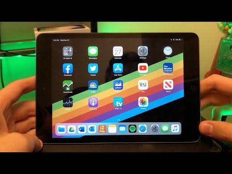 Using an iPad Mini 2 in 2019 (Review)