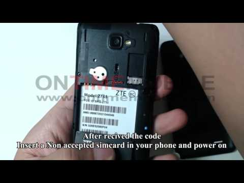 How to unlock or Check IMEI on ZTE Sonata 2 Z755 Cricket