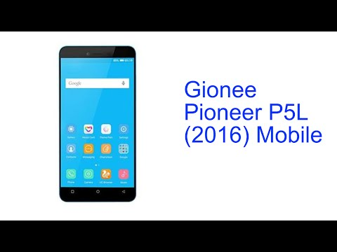 Gionee Pioneer P5L Mobile Specification [INDIA]
