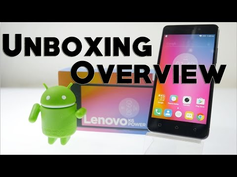 Lenovo K6 Power Smartphone Unboxing & Overview