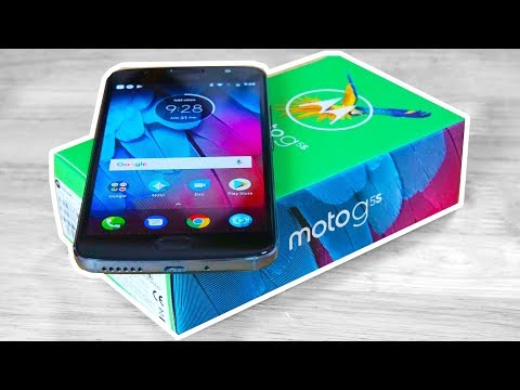 Moto G5S (16MP | Stock Android | 3000 mAh) - Unboxing & Hands On!