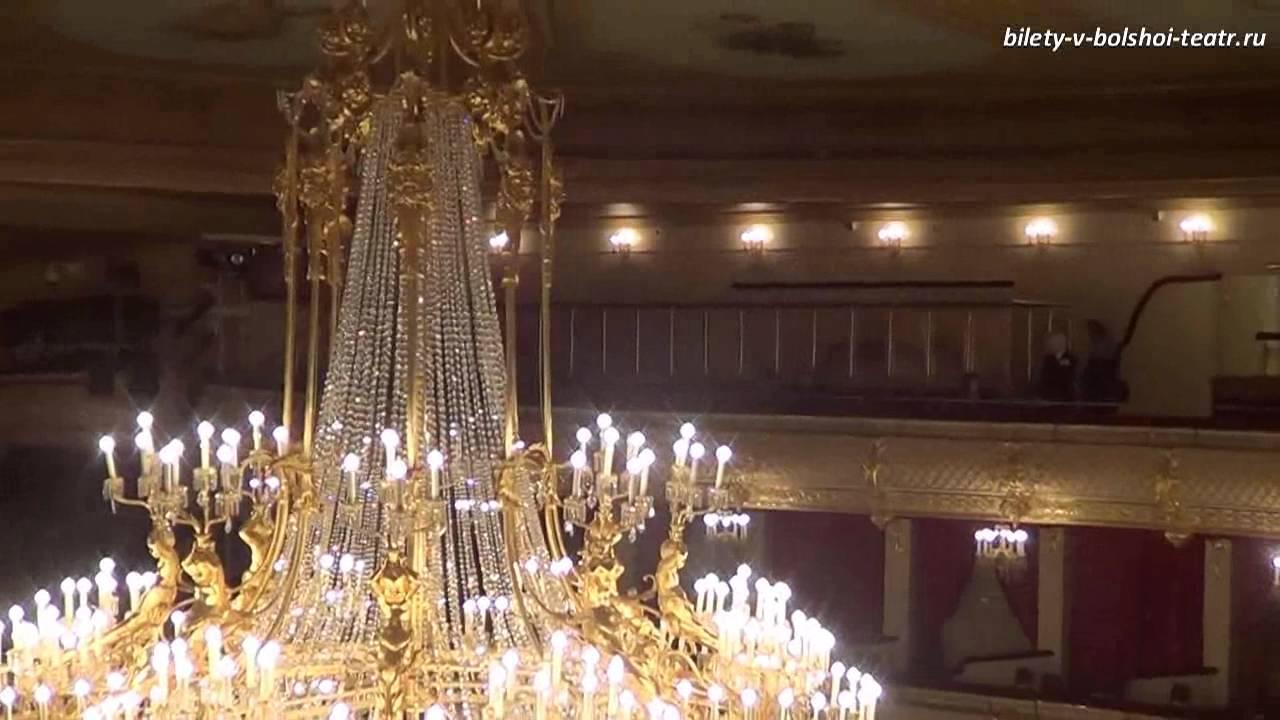 Новая сцена большого театра, бельэтаж - подвал.