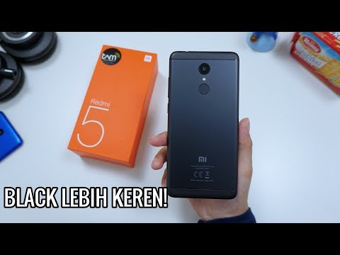 Unboxing XIAOMI REDMI 5 BLACK!